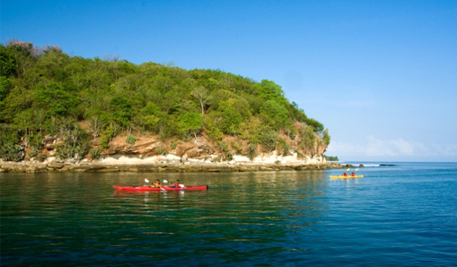 Kayaking in Lombok Island