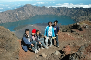 Rinjani Trekking Package 6 Days and 5 Nights